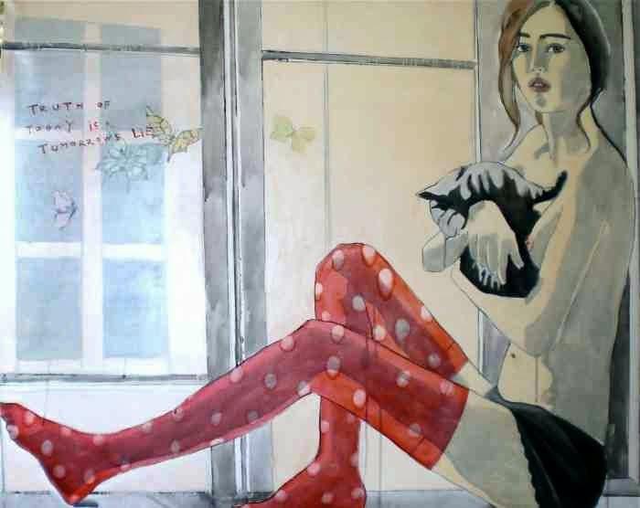 Современная норвежская художница. Edvarda A. Braanaas