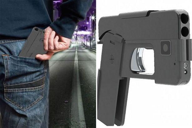 Foldable gun