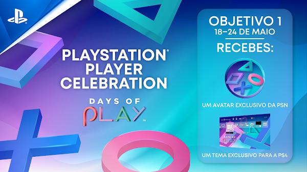 Days of Play 2021 arranca hoje com o início da primeira fase do Player Celebration
