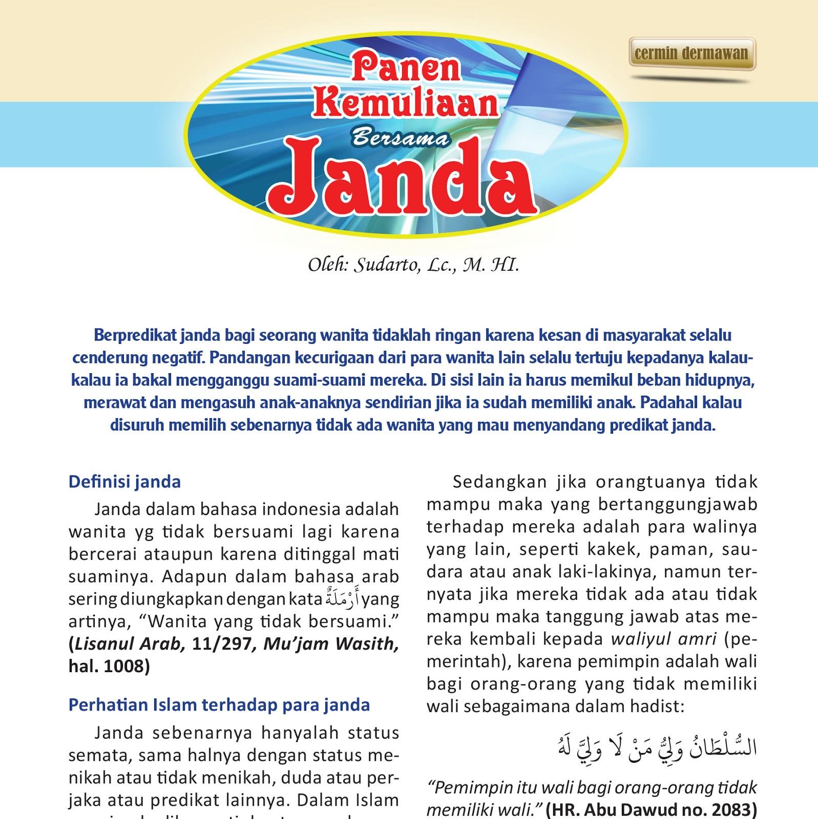 Cermin Edisi 12 I Panen Kemuliaan Bersama Janda Majalah Shafa Online
