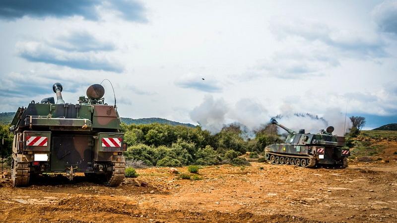Βολές Πυροβολικού στο Πεδίο Βολής «Αετός» Αλεξανδρούπολης