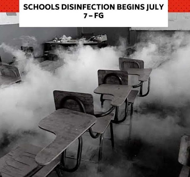 Disinfection Of Schools Begins On July 7 - Muhammad Mahmood, Minister
