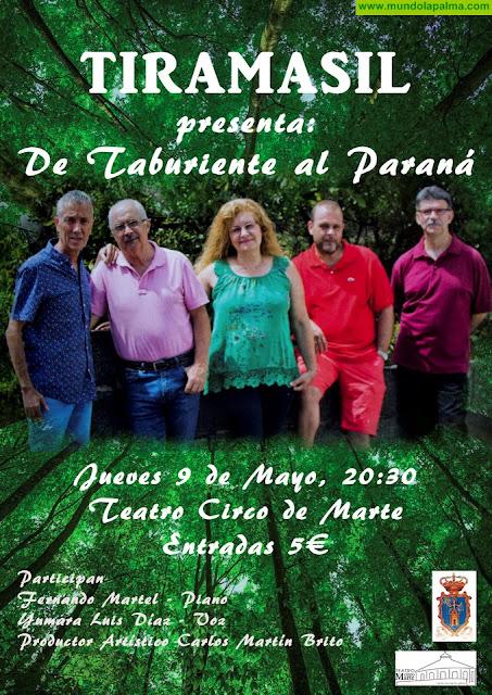"Tiramasil presenta mañana su disco ""De Taburiente al Paraná"""