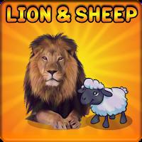 Lion And Sheep Escape