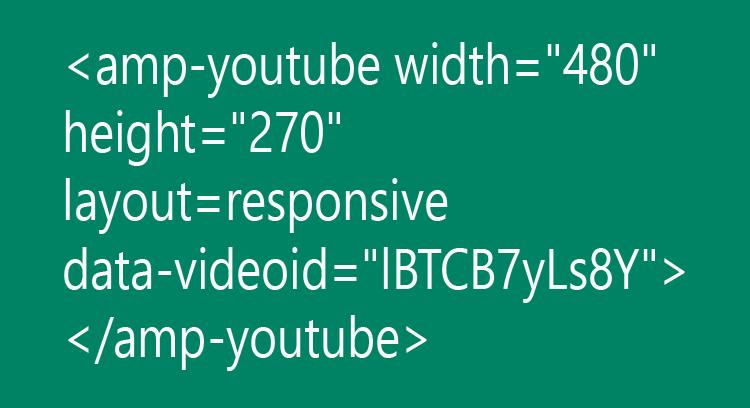 Cara menempatkan youtube pada postingan AMP