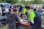 Lima Hari Gelar Operasi Patuh Gatarin 2020, Polres Lobar Tilang 348 Pengendara