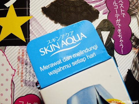 [REVIEW] Skin Aqua : UV Moisture Milk SPF 50+ PA+++