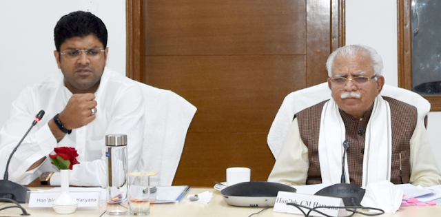 युवाओं को रोजगार देने के लिए उद्योग लगाना प्राथमिकता: दुष्यंत चौटाला