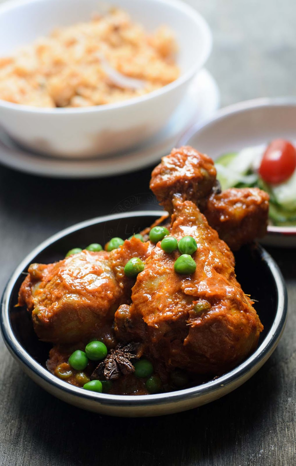 Ayam masak merah photo
