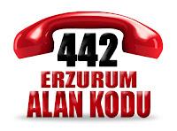 0442 Erzurum telefon alan kodu