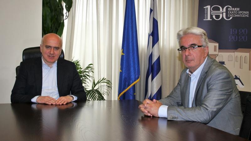 Ο Γιώργος Γραμμένος ειδικός σύμβουλος της Περιφέρειας ΑΜ-Θ σε θέματα Οικονομικών, Διοίκησης και Διαφάνειας