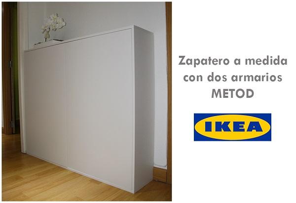 La neurona del manitas zapatero con un mueble de cocina - Ikea armario zapatero ...