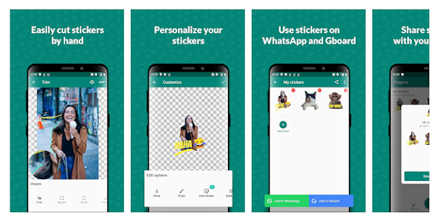 Sticker Studio - WhatsApp Sticker Maker: best whatsapp sticker makers for Android