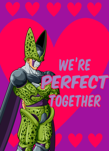 The Dragon Blog Dragon Ball Valentines Day Cards
