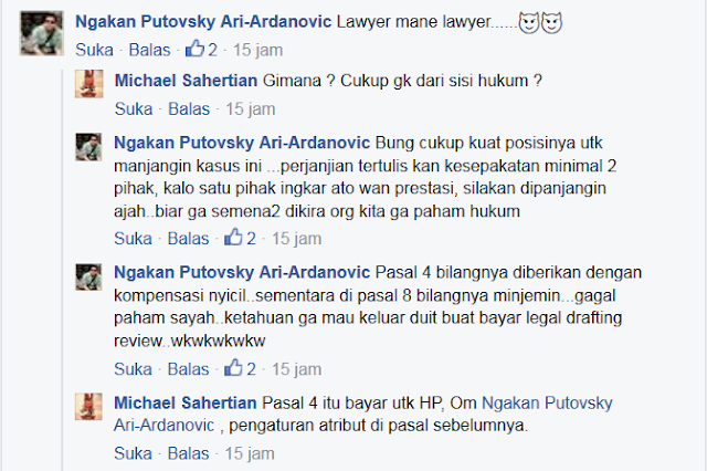 Komentar Pedas Netizen, Atas Apa Yang Dialami Michael Sahertian, Driver Gojek yang Didzolimi!