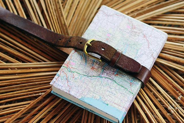 Lente DIY notitieboekje