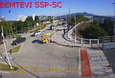 Câmera ao vivo de Florianópolis