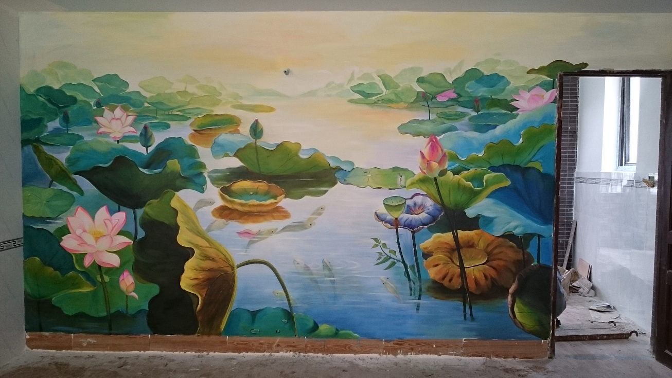 vẽ tranh tường