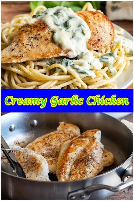#Creamy #Garlic #Chicken