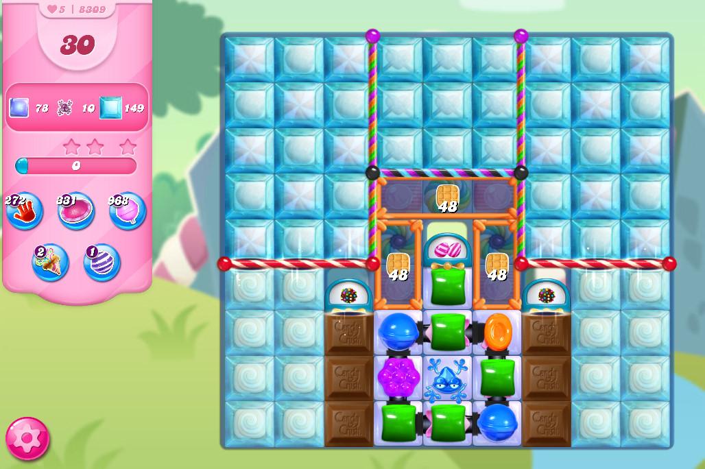 Candy Crush Saga level 8309