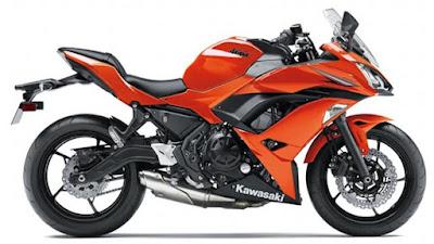 2017 Kawasaki Ninja 650 ABS side look