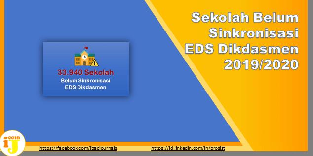 PMP DIkdasmen : Sekolah Belum Sinkronisasi EDS Dikdasmen 2019/2020