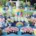 Festa Unicórnio, doces que trasnformam a decoração
