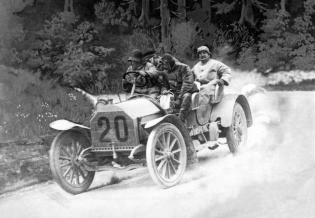 Adolf Daimler and the Herkomer-Konkurrenz Rallies, 1905-1907