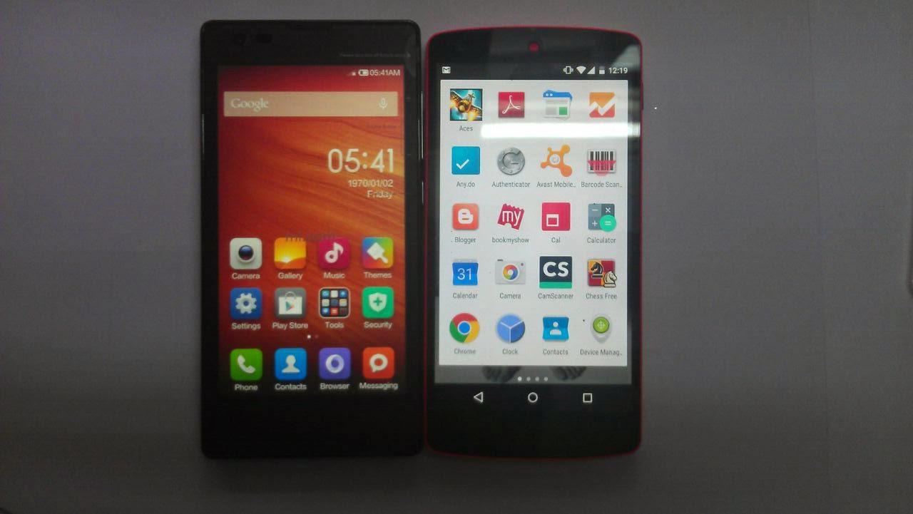 xiomi-redmi-1s-versus-Nexus-5