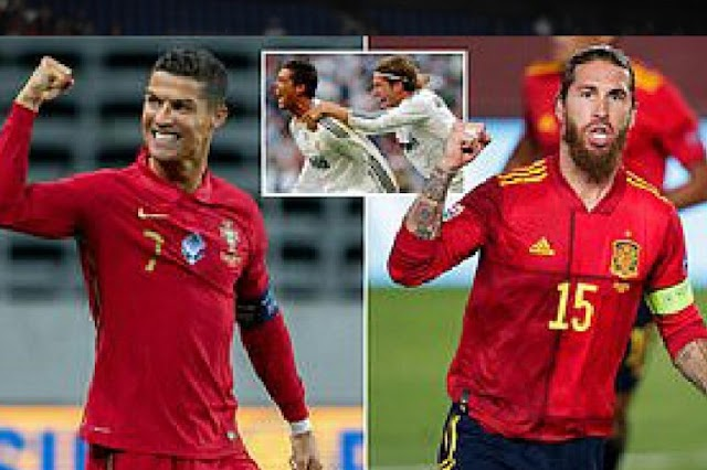 Spain Vs Portugal: Ronaldo And Ramos Meet Tonight, Two Years After Their Dispute