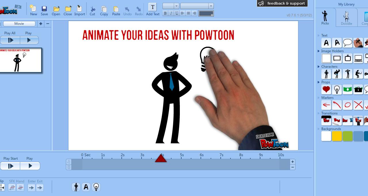 Powtoon Membuat Presentasi Animasi Super Keren Hidup