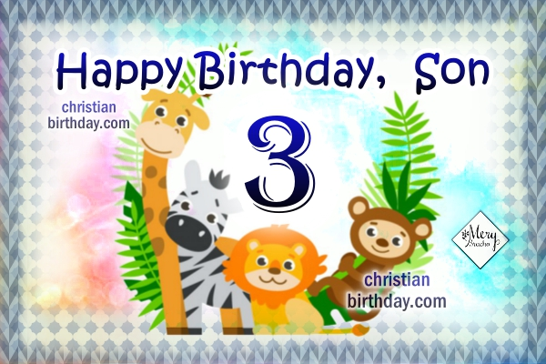 Imagenes De Birthday Wishes For A 3 Years Old