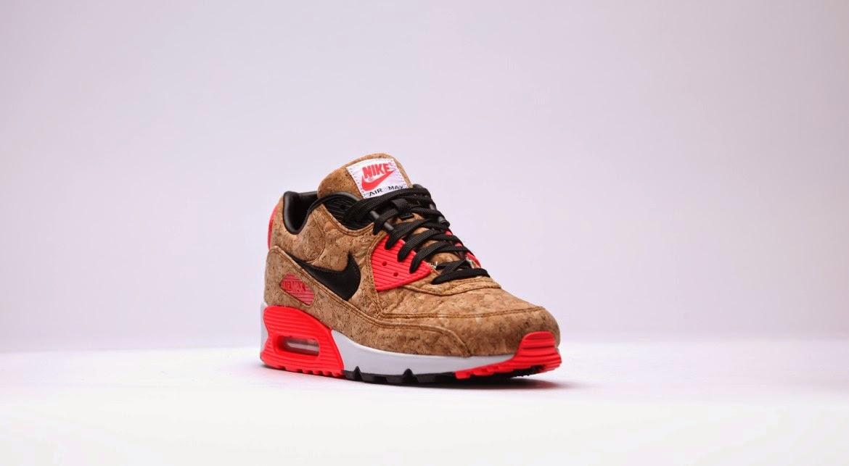 Nike Air Max 90 Leather GS (weiß) 43einhalb Sneaker Store