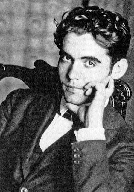Retrato del escritor Federico García Lorca