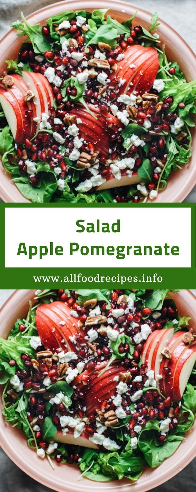Salad Apple Pomegranate