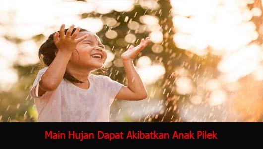 Main Hujan Dapat Akibatkan Anak Pilek