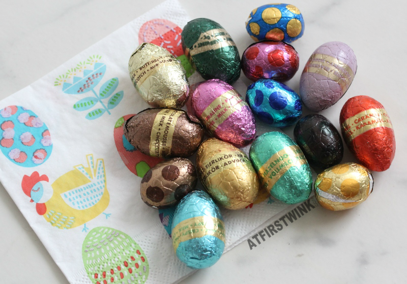 Big HEMA Easter chocolate eggs review (15 flavors!)