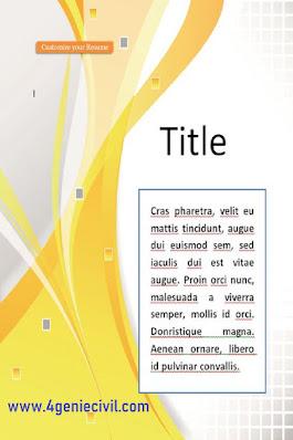 exemples de modèles de pages de garde gratuits pour mémoire et rapport de stage en word doc