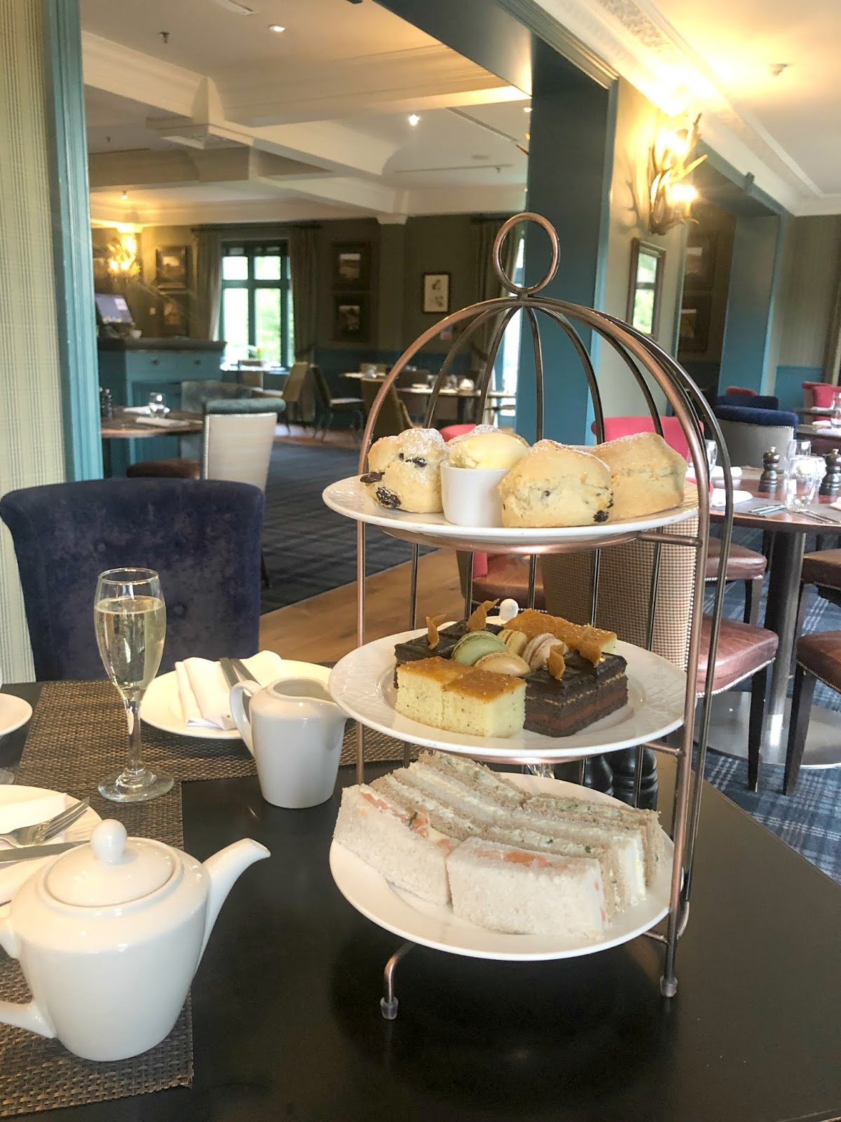 Slaley Hall - Afternoon Tea Cake