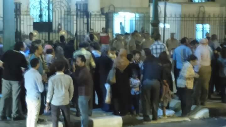 """وقفه معلمين المنيا لليوم الثانى لرفض قرارات النقل لمدارس بعيدة وادارات اخرى"""" ارحمونا """""""