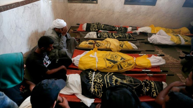 Israel reconoce asesinato de 8 miembros de una familia en Gaza
