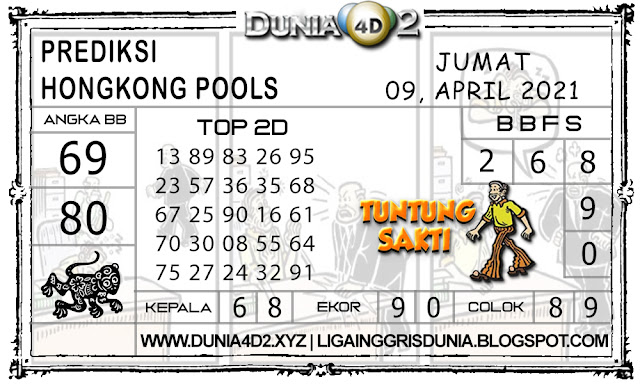 Prediksi Togel HONGKONG DUNIA4D2 10 APRIL 2021