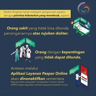 Pembatasan Pelayanan Paspor