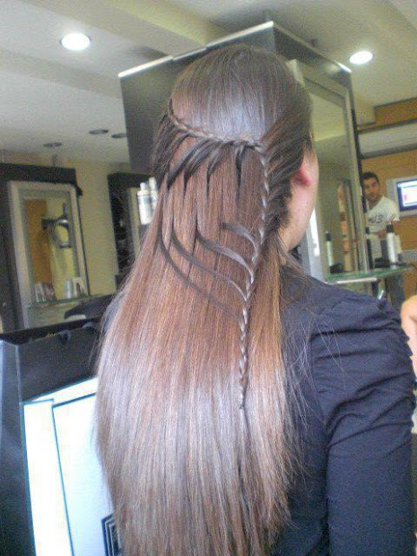 braid hairstyle haircolor