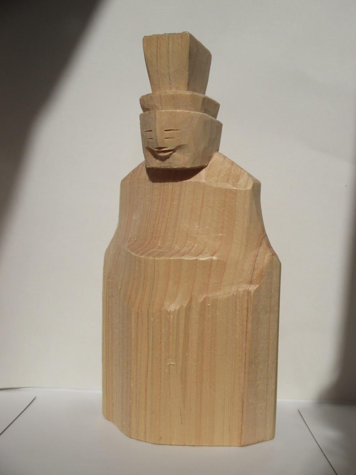 東海・旅の足跡 2: vol.1203 円空彫り 模刻の神像 造仏作善