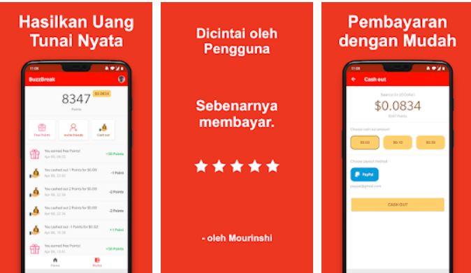 17 Aplikasi Penghasil Uang Di Android Tercepat Terbukti Membayar 2021 Review Teknologi Sekarang