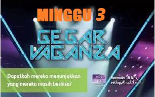 Konsert Gegar Vaganza Astro 2014