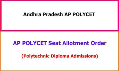 AP Polycet Seat Allotment Order