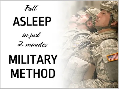 How to get to Fall Asleep Fast: Military Method to sleep in 2 minutes