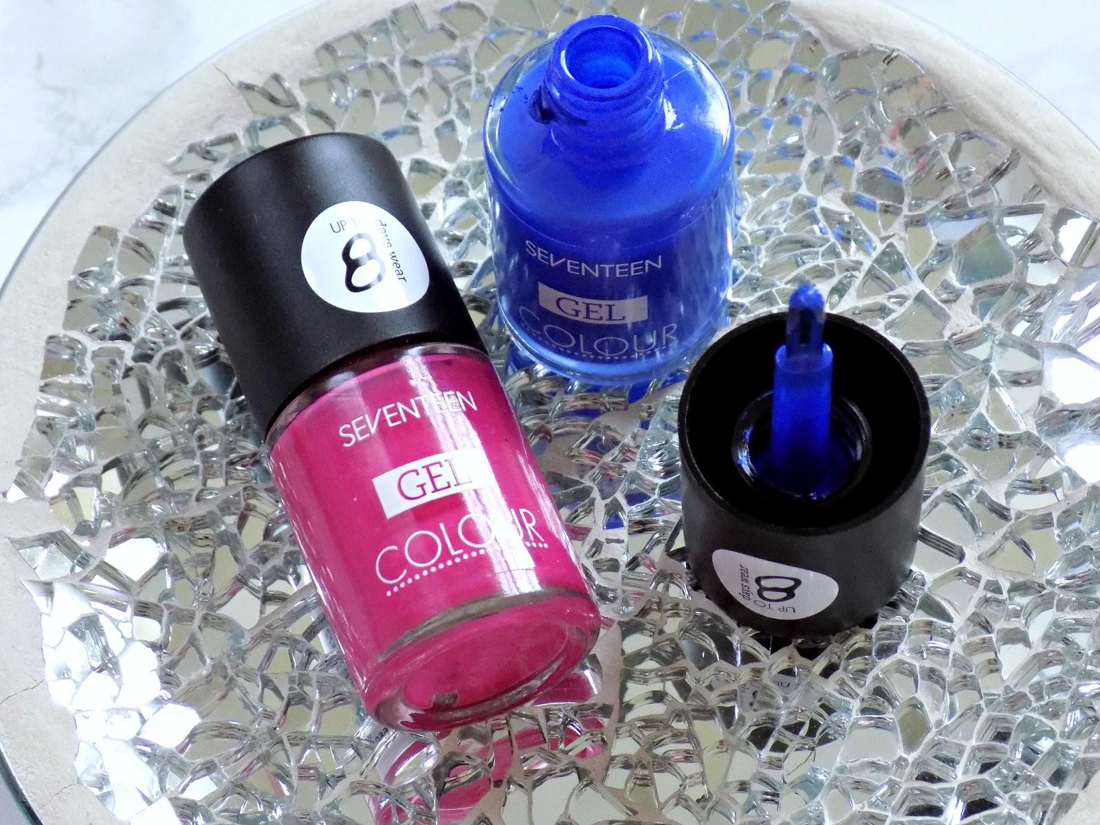 Seventeen Gel Colour nail polish Hurricane